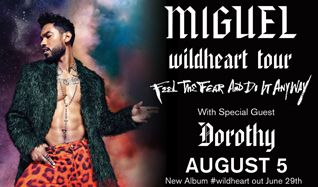 Miguel tickets at Starland Ballroom in Sayreville