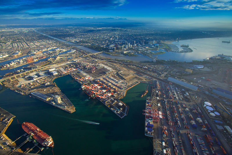 Port of Long Beach awarded Best Seaport in North America.