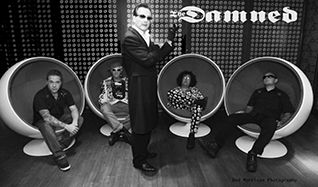 The Damned tickets at Fonda Theatre in Los Angeles