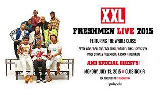 XXL Freshmen Tour tickets at Club Nokia in Los Angeles