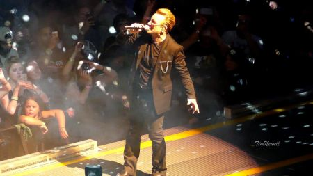 Watch: U2 give first ever live performance of 'The Crystal Ballroom'