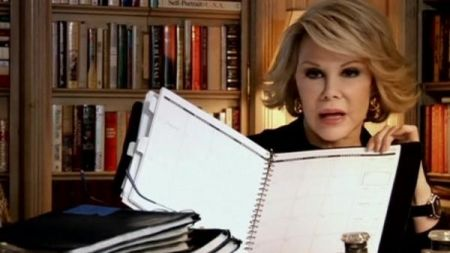 Five things you did not know about Joan Rivers