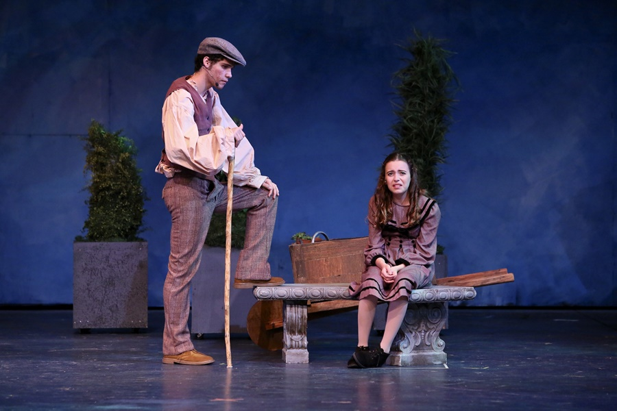"""The Secret Garden"" runs for one more weekend at Shawnee Mission's Theatre in the Park in western Kansas City.  The musical is fun for the e"
