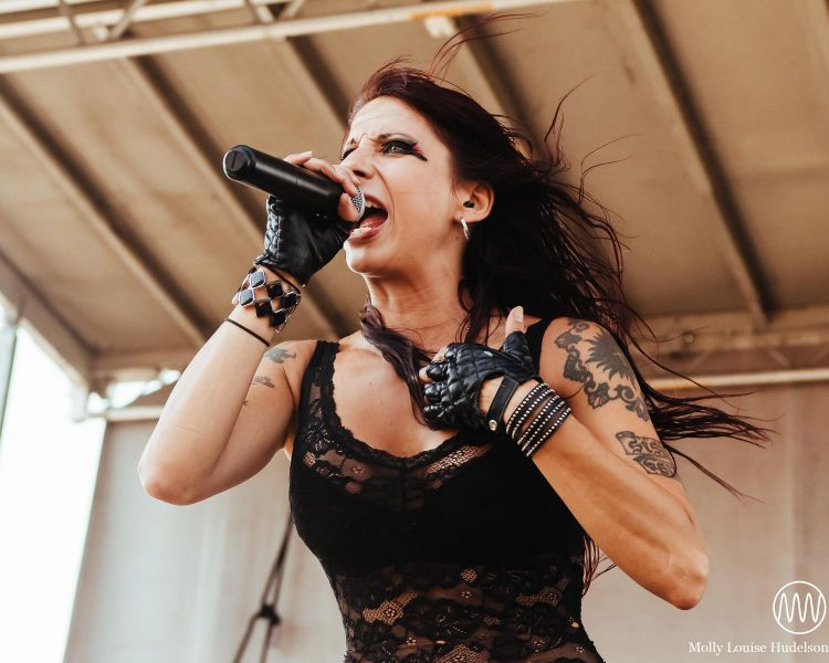 Sister Sin at Mayhem Festival in Wantagh, NY- 7/26/15