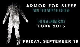 Armor for Sleep tickets at Starland Ballroom in Sayreville