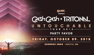 Cash Cash + Tritonal tickets at Showbox SoDo in Seattle