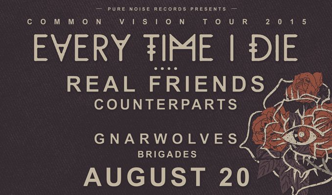 Every Time I Die tickets at Starland Ballroom in Sayreville