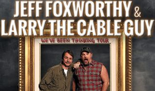 Jeff Foxworthy and Larry the Cable Guy tickets at Arvest Bank Theatre at The Midland in Kansas City