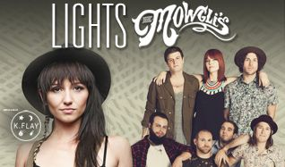 Lights and The Mowgli's tickets at Arvest Bank Theatre at The Midland in Kansas City
