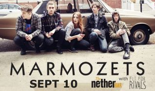 Marmozets in The Nether Bar tickets at Mill City Nights in Minneapolis