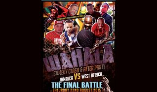 Paparazzi Central - aftershow  for Wahala Comedy Clash: Jamaica Vs West Africa tickets at indigo at The O2 in London