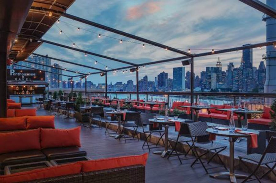 Relax and enjoy the electrifying light show of the Fourth of July as you look on to the East River from atop the roof of the Penthouse808 Re