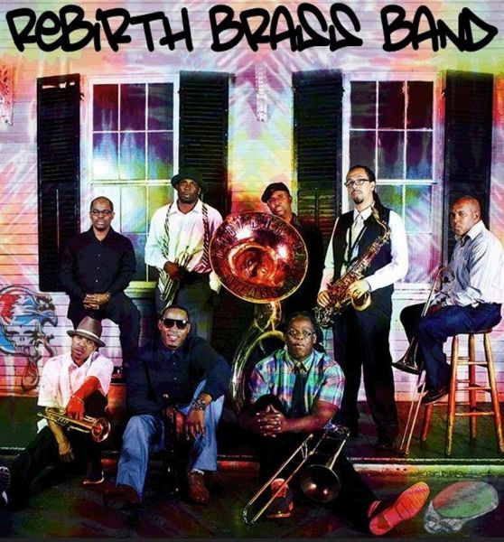 New Orleans own Rebirth Brass Band playing live at Seattle's Tractor Tavern