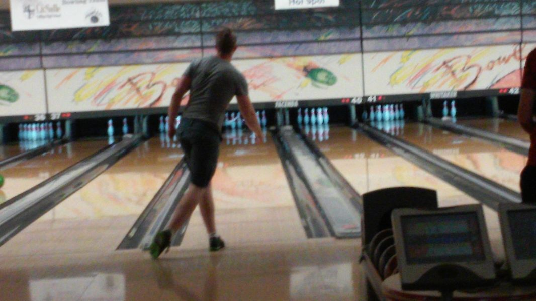 Facenda Sport Shot League bowlers, including Sean Jensen (above), will roll on the Badger oil pattern for the final time this league season.