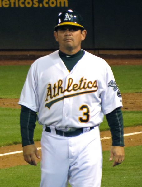 Oakland third-base coach Mike Gallego has his own giveaway day on August 2, and A's fans don't want to miss it!