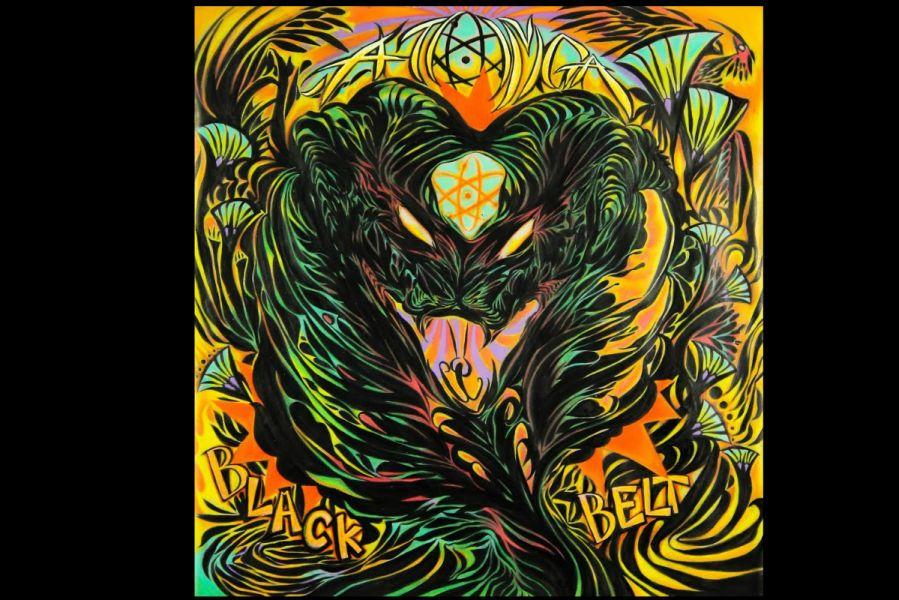 ATOMGA 'Black Belt' album artwork