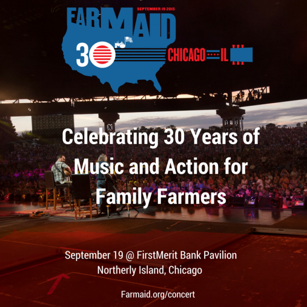The official line-up announced for Willie Nelson's Farm Aid 30 in Chicago