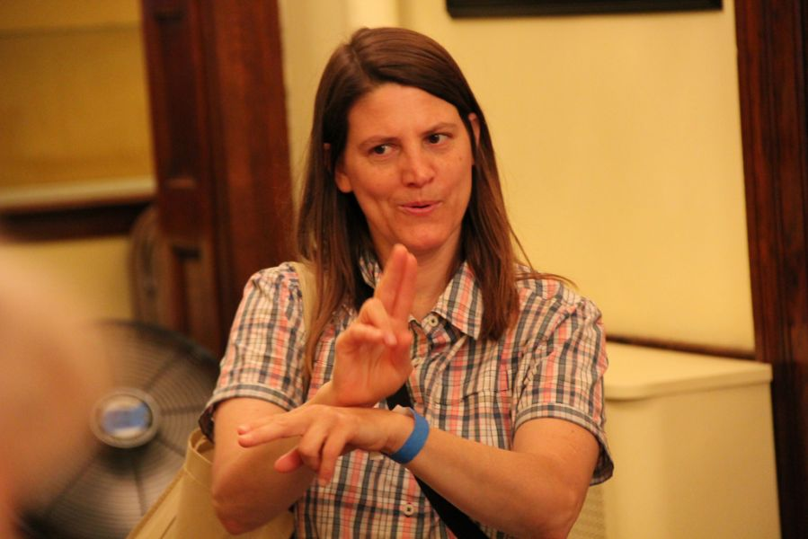 Learn the basics of American Sign Language (ASL) at the Center For Hearing And Deaf Services.