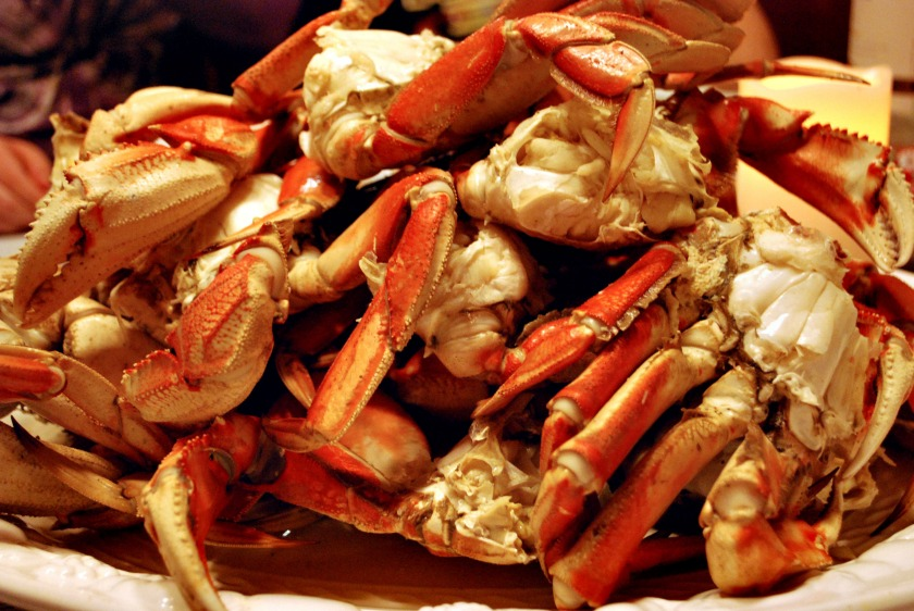 Crab is one popular dish at seafood restaurants in Austin