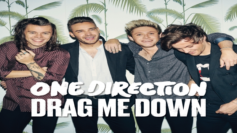"One Direction's ""Drag Me Down"""