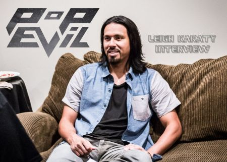 Pop Evil vocalist Leigh Kakaty discusses upcoming new record, 'Up'