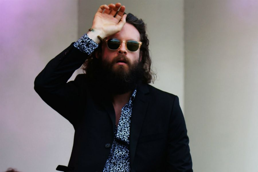 In Photos: Father John Misty gets into his feelings for day one of Lollapalooza