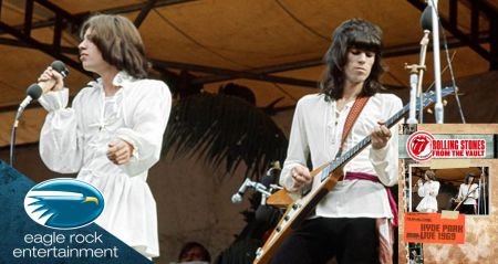 The Rolling Stones release iconic Hyde Park 1969 performance on Blu-ray