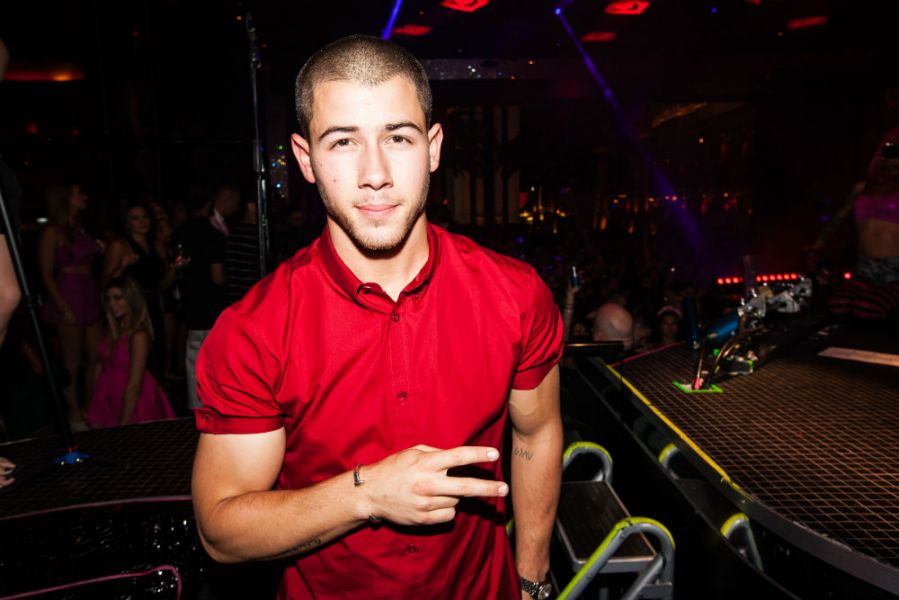 Nick Jonas at Drai's Beachclub & Nightclub, Aug. 1, 2015