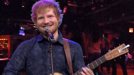 Ed Sheeran tops Billboard Artist 100; most popular artist of the week