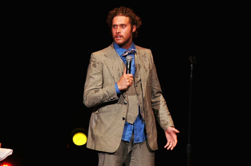 T.J. Miller performing with Funny or Die's 2015 Oddball Comedy and Curiosity Festival @ Hollywood Casino Amphitheatre in Chicago, IL.