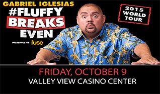 Gabriel Iglesias tickets at Valley View Casino Center in San Diego