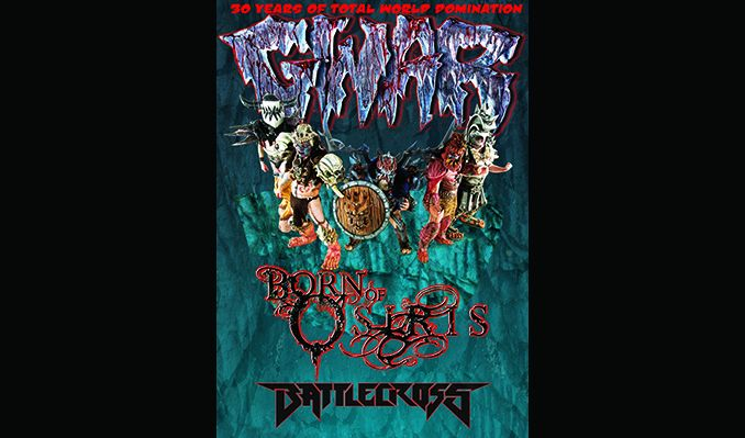 GWAR tickets at Showbox SoDo in Seattle