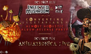 Infected Mushroom (Live) tickets at Gothic Theatre in Englewood