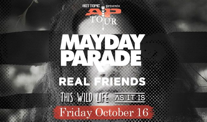 Mayday Parade tickets at Starland Ballroom in Sayreville