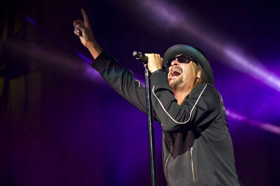 Kid Rock returns to the stage in Cleveland