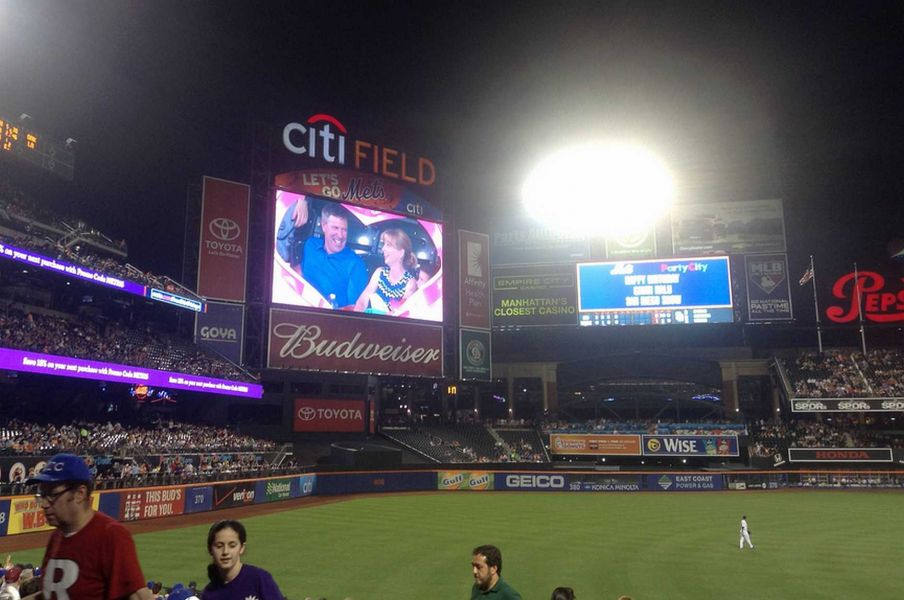 New York Mets' kiss cam is lacking in diversity
