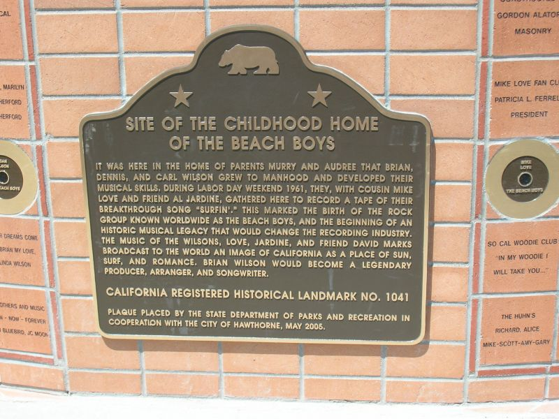 Beach Boys Monument