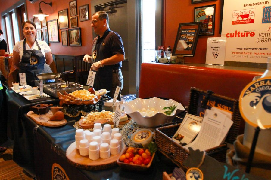 ACS Cheese Crawl featuring Narragansett Creamery