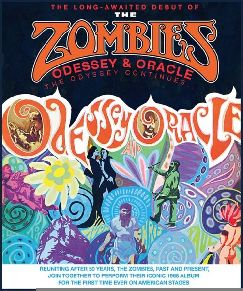 The Zombies 'Odessey & Oracle' tour coming to Seattle's Benaroya Hall