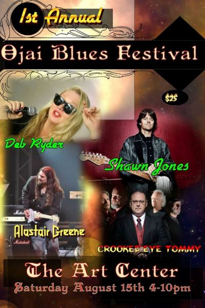The 1st Annual Ojai Blues Festival