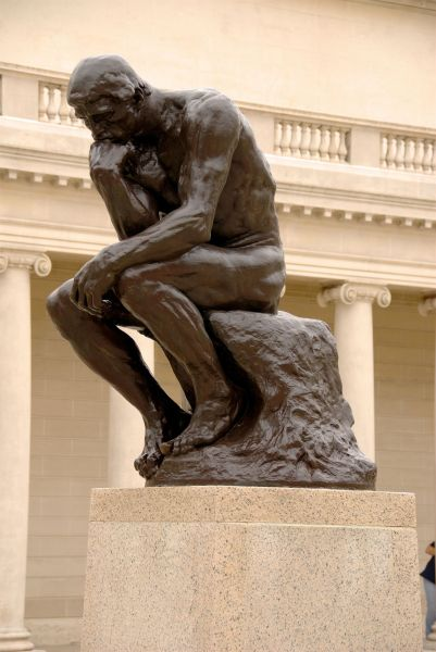 "Rodin's ""The Thinker"" at San Francisco Legion of Honor"
