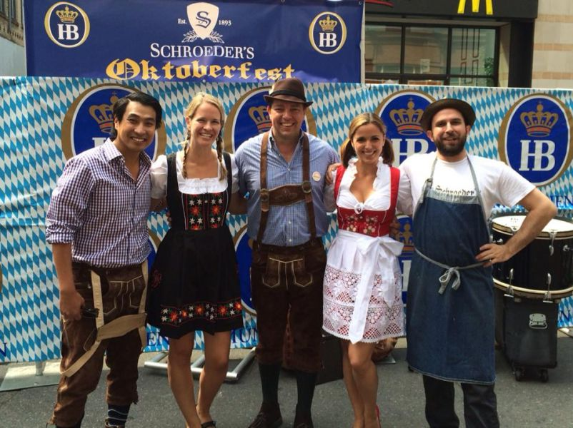 Schroeder's Restaurant, San Francisco for Oktoberfest