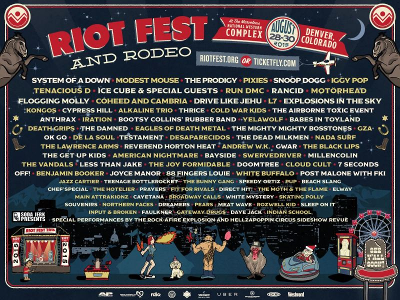 The closing day of Riot Fest offers a whole day filled with hip-hop goodness.