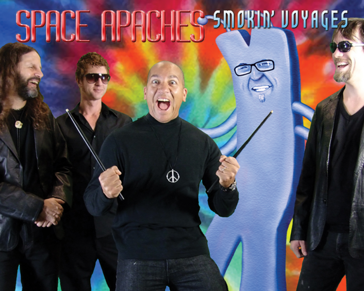 pic of Space Apaches' album 'Smoking Voyages'