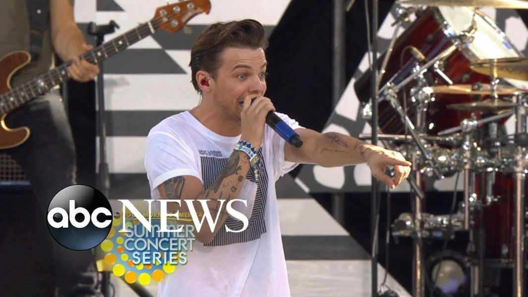 One Direction hits the 'GMA' stage with fan-favorite tune 'No Control'