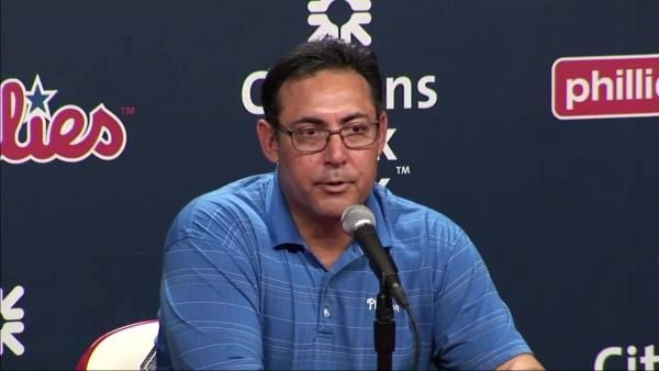 Philadelphia Phillies: Ruben Amaro's fate will be decided above the gate
