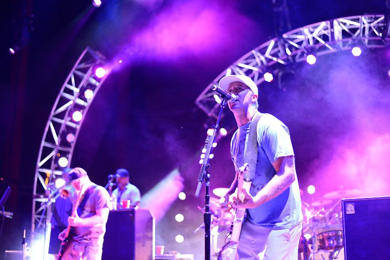 Slightly Stoopid performs August 1 to a sold out crowd at Red Rocks Amphitheater.