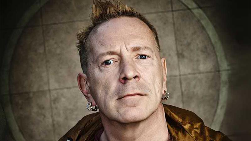 John Lydon of the Sex Pistols and Public Image Ltd