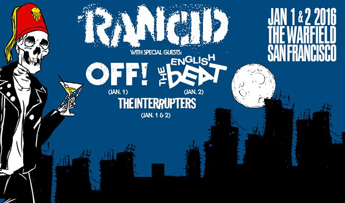 Rancid tickets