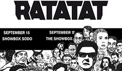 Ratatat tickets at The Showbox in Seattle